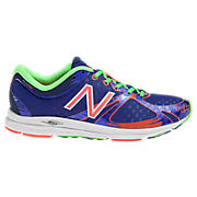 New Balance 1400, Blue with Coral & Green