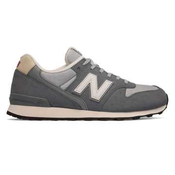 New Balance 696 New Balance, Grey with Light Grey