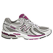 New Balance 860, White with Pink