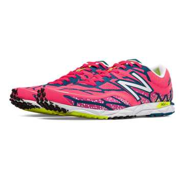 New Balance 1600v2, Bubble Gum Pink with Blue & Fluorescent Yellow