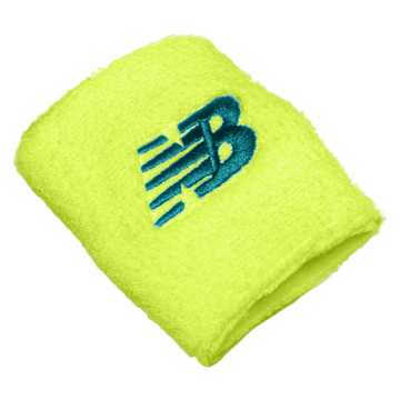 New Balance New Balance Wristband, Neon Yellow with Sea Glass