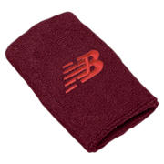 New Balance Wrist Towels, Maroon with Flame