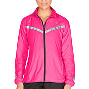 360 Jacket, Pink Shock with Silver