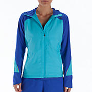 Sequence Hooded Jacket, Blue Atoll with Dazzling Blue