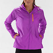 Impact Jacket, Purple Cactus Flower with Orange Pop
