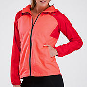 Sequence Hooded Jacket, Fiery Coral with Lollipop