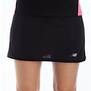 Bonita Skirt, Black with Pink Shock