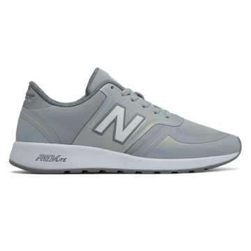 New Balance 420 New Balance, Silver Mink with White