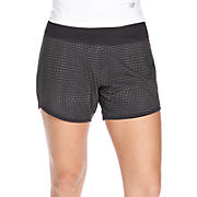 5 inch 2-in-1 Short - Print, Black with Grey