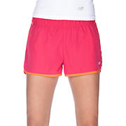 Momentum Short, Raspberry with Golden Poppy & Black