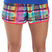 Momentum Short Graphic, Pink with Yellow & Green