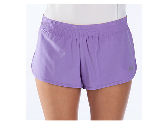 NBx Minimus Split Short, Purplehaze