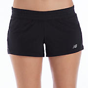 Impact 3 inch Run Short, Black