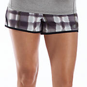 "Impact 3"" Graphic Run Short, Black with Magnet"