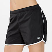 5 inch Go 2 Short, Black with White