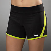 HKNB Solid Hybrid Short, Lime Punch