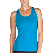 NP Racerback Tank, Kinetic Blue