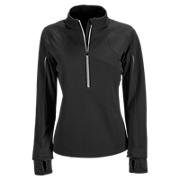 NBx Windblocker Half Zip, Black