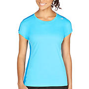 Icefil Short Sleeve, Aquarius with Kinetic Blue