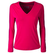 Icefil Long Sleeve, Raspberry