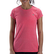 Heathered Short Sleeve, Diva Pink
