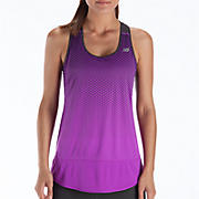 Impact Tunic Tank, Purple Cactus Flower with Magnet