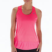 Impact Tunic Tank, Pink Shock with Diva Pink