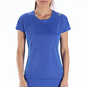 Impact Short Sleeve, Dazzling Blue with Blue Atoll