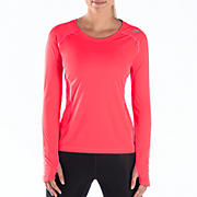Impact Long Sleeve, Diva Pink with Pink Shock