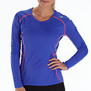 Impact Long Sleeve, Dazzling Blue with Blue Atoll & Diva Pink