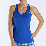 Momentum Racerback, Dazzling Blue with White