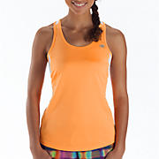 Momentum Racerback, Orange Pop with White