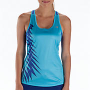 Momentum Racerback Graphic, Blue Atoll with Dazzling Blue