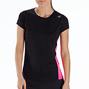 Go 2 Short Sleeve, Black with Pink Shock