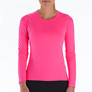Go 2 Long Sleeve, Pink Shock