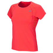 New Balance NBx Short Sleeve, Fiery Coral