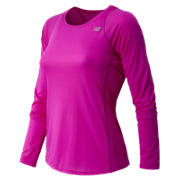 Accelerate Long Sleeve, Poisonberry with Mulberry