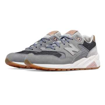 New Balance 580 NB Grey, Gunmetal with Silver Mink