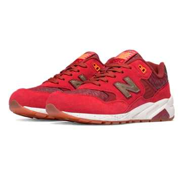 New Balance 580 Elite Edition Lost Worlds, Red with Gold