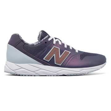 New Balance 96 REVlite, Deep Cosmic Sky with Light Porcelain Blue & Rose Gold