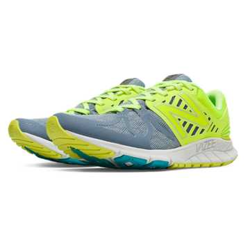 New Balance Exclusive Vazee Rush, Grey with Fluorescent Yellow