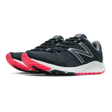 New Balance Vazee Rush, Black with Pink