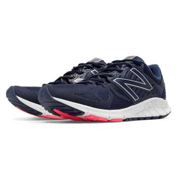 New Balance Vazee Rush Protect Pack, Navy with Pink