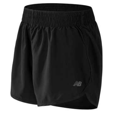 New Balance Accelerate 5 Inch Short, Black