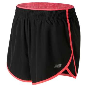 New Balance Accelerate 5 Inch Short, Guava with Black