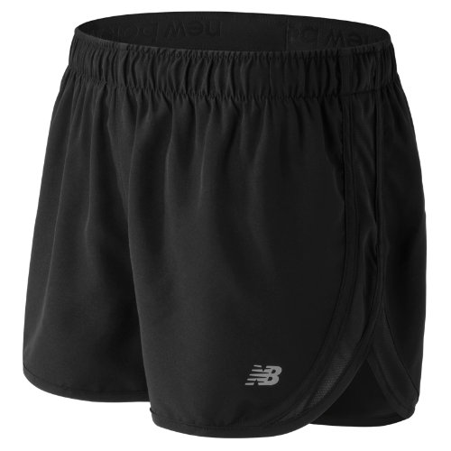 New Balance Accelerate 2.5 Inch Short Girl's Performance - WS53145BK