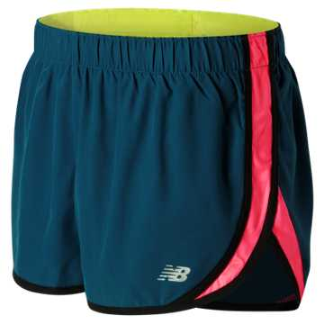 New Balance Accelerate 2.5 Inch Short, Castaway with Firefly