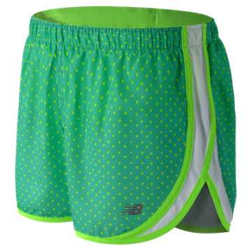 New Balance Accelerate 2.5 Inch Printed Short, Reef