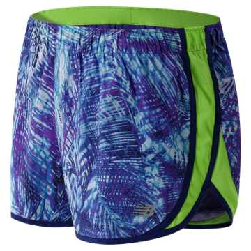 New Balance Accelerate 2.5 Inch Printed Short, Titan Multi
