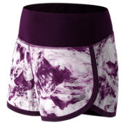New Balance Impact 3 Inch Short, Imperial Print